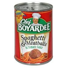 Chef Boyardee Spaghetti & Meatballs 14.5 oz.