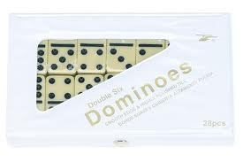 Ivory Dominos 28 pieces