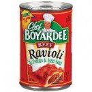 Chef Boyardee Beef Ravioli 14.5 oz.