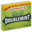 Wrigley's Doublemint Gum Slim Pack 15 count