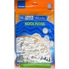 Dr. Fresh Velocity Kool Floss Picks 60 Count