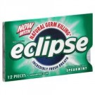 Wrigley's Eclipse Spearmint Gum 12 pieces