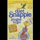Diet Snapple Lemon Tea Singles to go