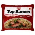 Nissin Top Ramen Noodles 3 oz. Beef